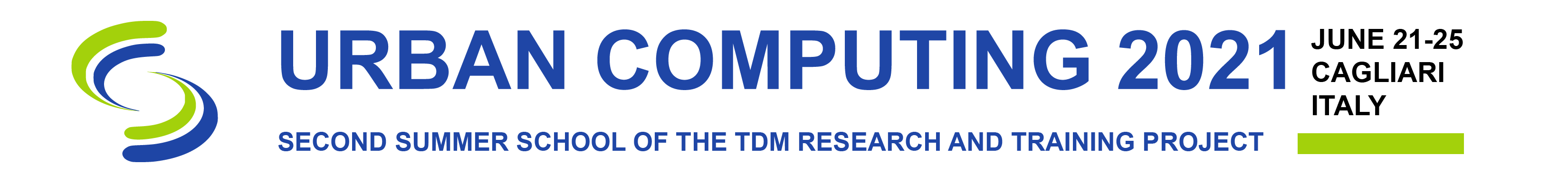 TDM Urban Computing 2021 Logo